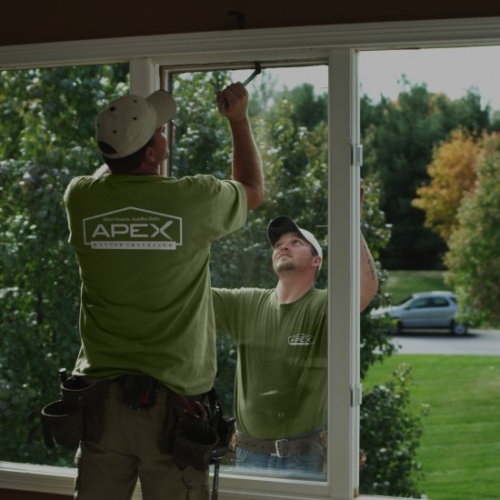 Apex Master Installer Window Replacement-green BG